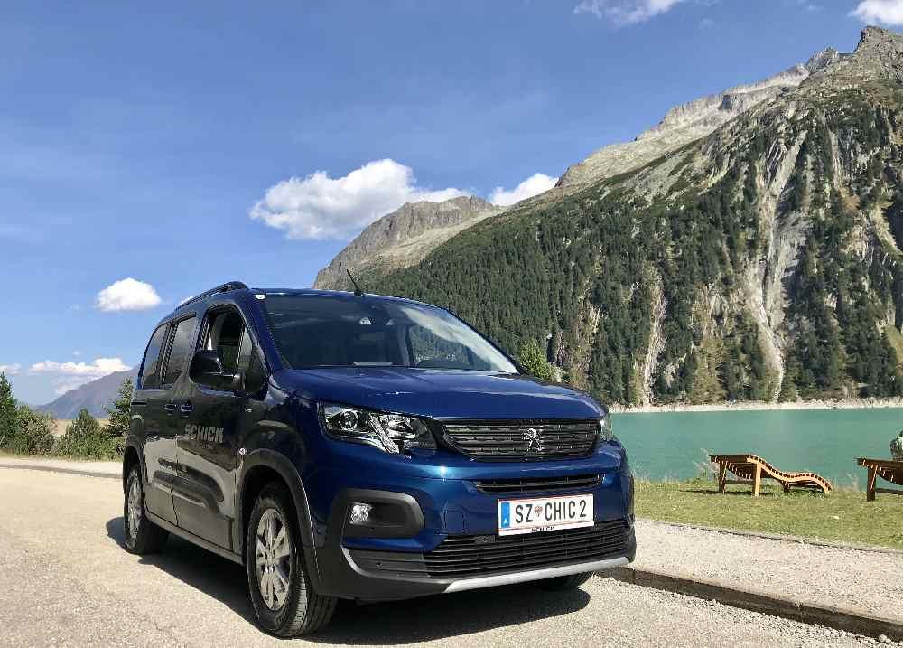 Anreise Schlegeisspeicher - über die Schlegeis Alpenstraße in den Zillertaler Alpen