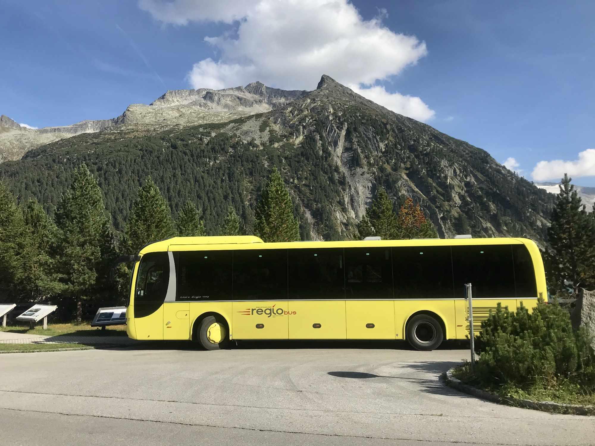 Schlegeisspeicher Bus: Öffentliche Anreise zum Schlegeis Speicher