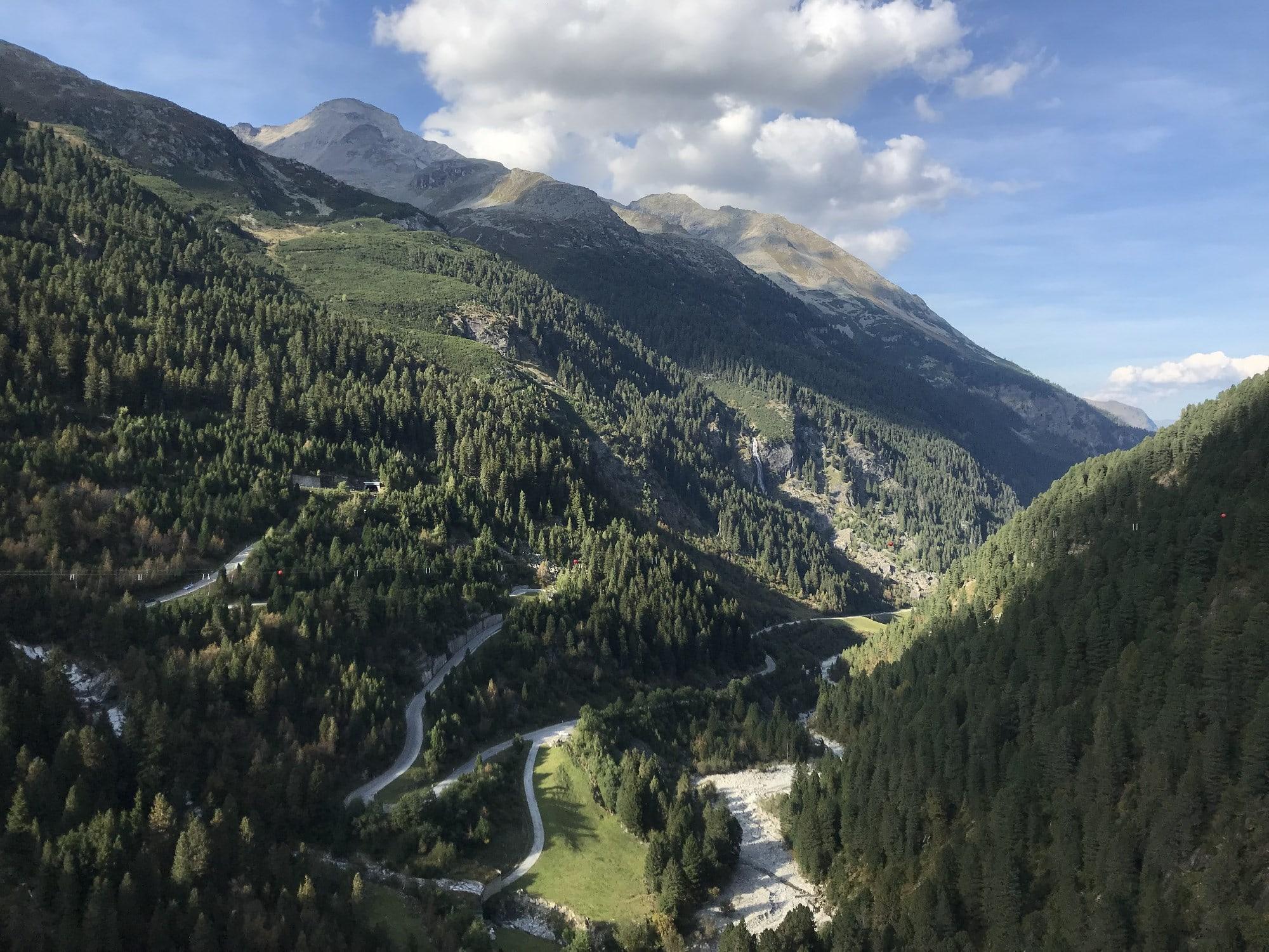 Die Schlegeis Alpenstraße