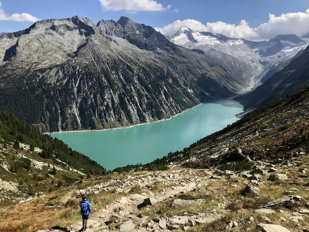 Schlegeisspeicher wandern - traumhaft schön in den Zillertaler Alpen