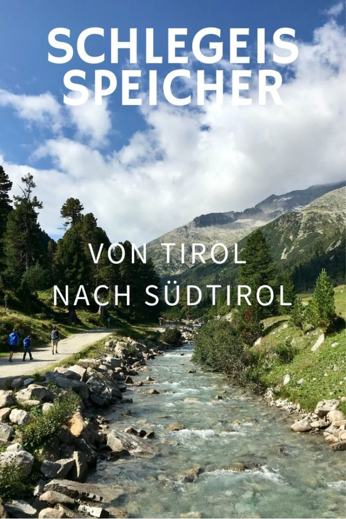 Schlegeispeicher Wanderung auf´s Pfitscher Joch: Von Tirol nach Südtirol wandern!