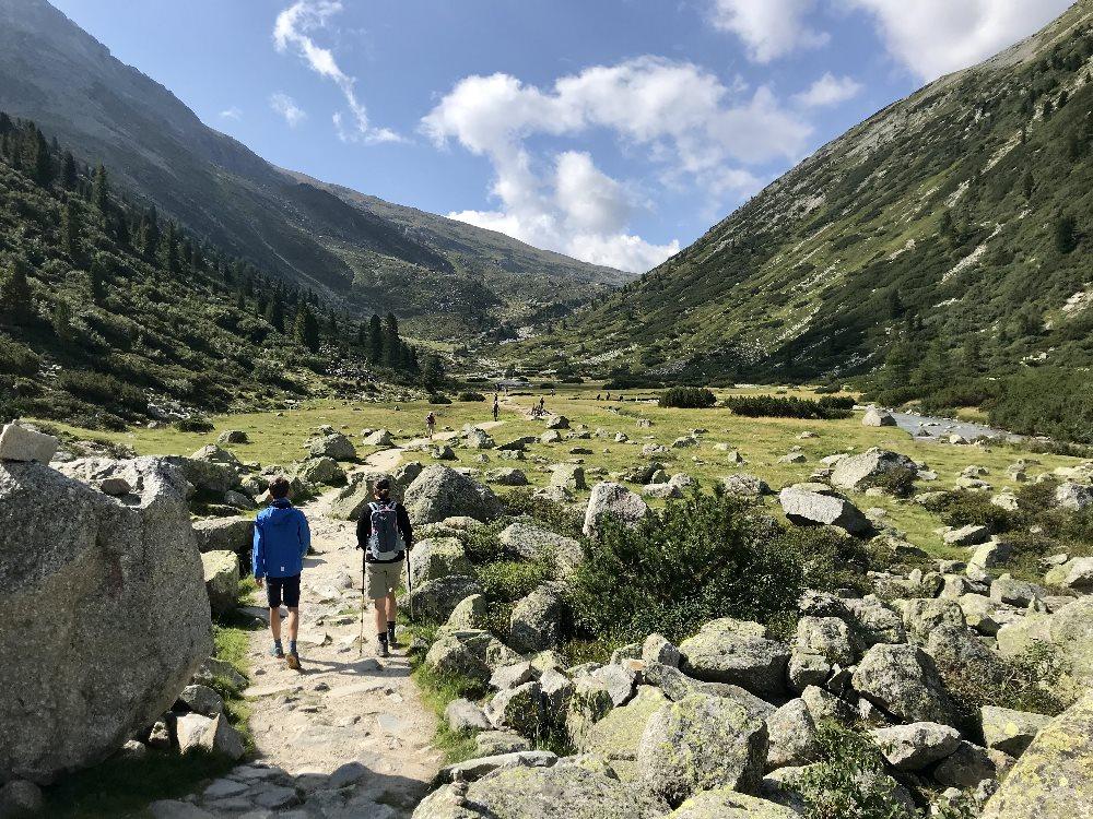 So schön: Die Wanderung Schlegeisspeicher Pfitscher Joch