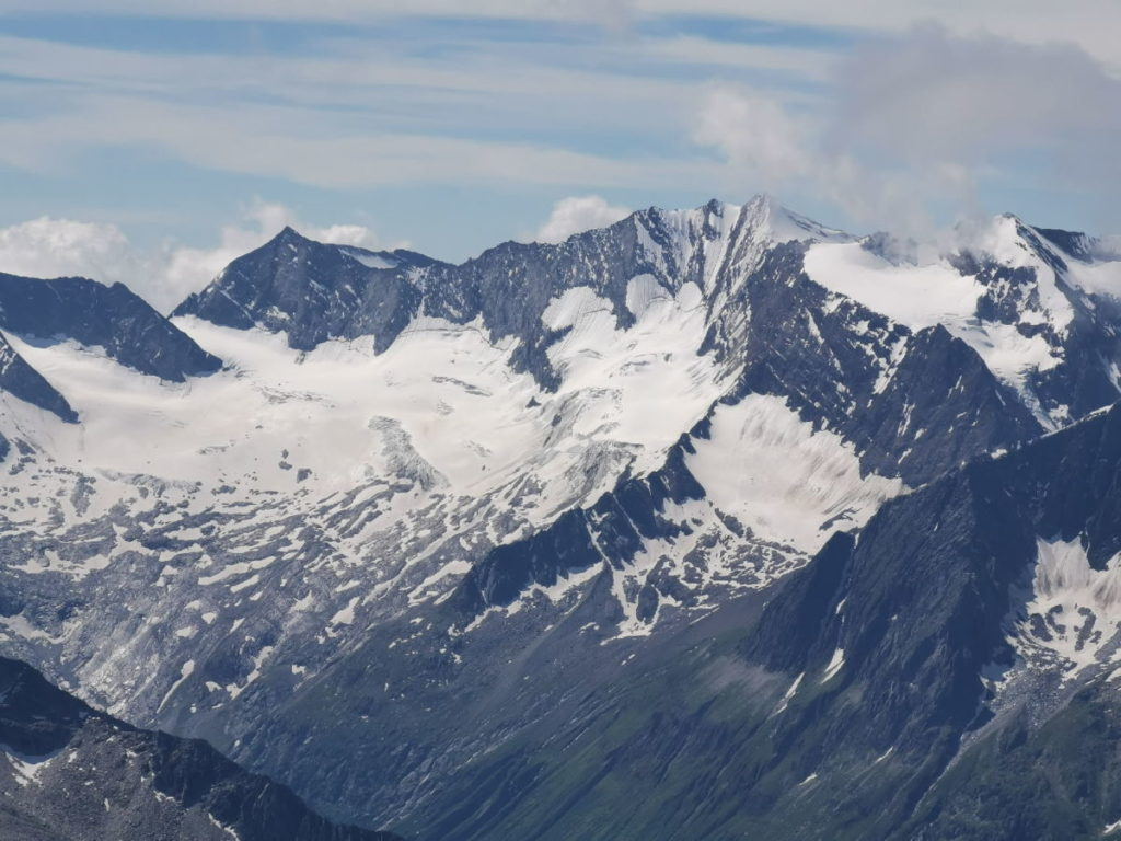 Gletscher rund um den Hochfeiler
