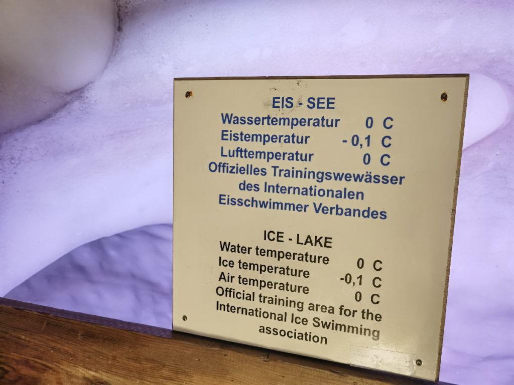 Kalt, kälter, am Kältesten - schwimmen im Eissee