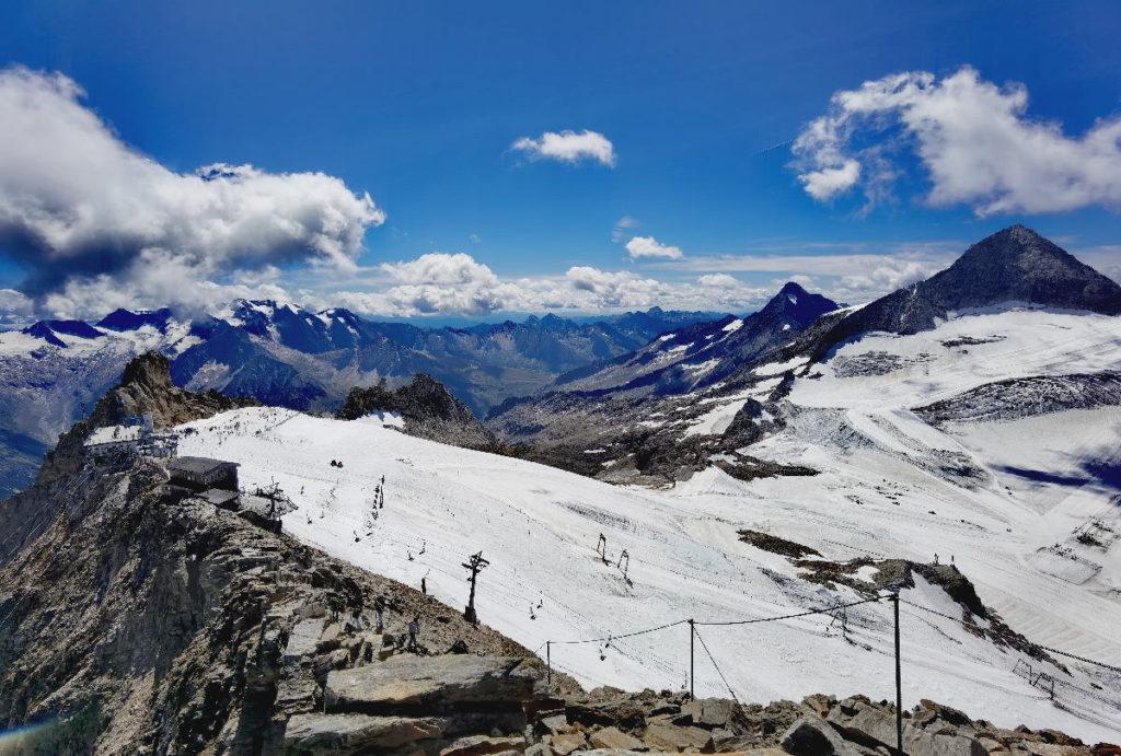 Der bekannteste Gletscher im Zillertal bei der Gefrorenen Wand