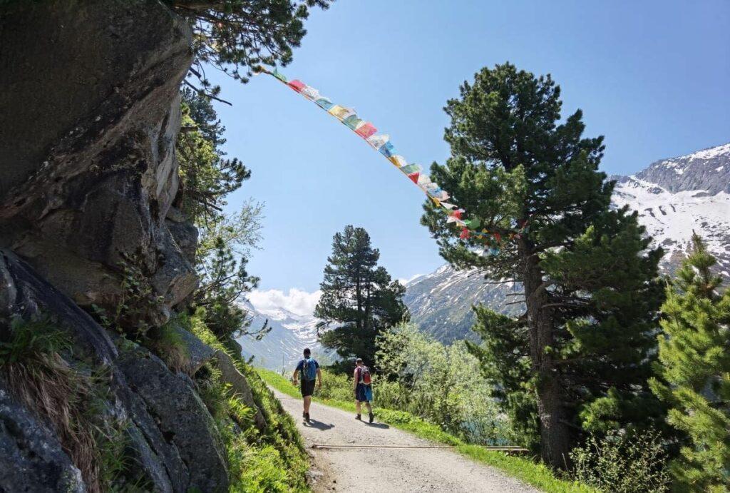 Zillergrund wandern - nach Klein Tibet