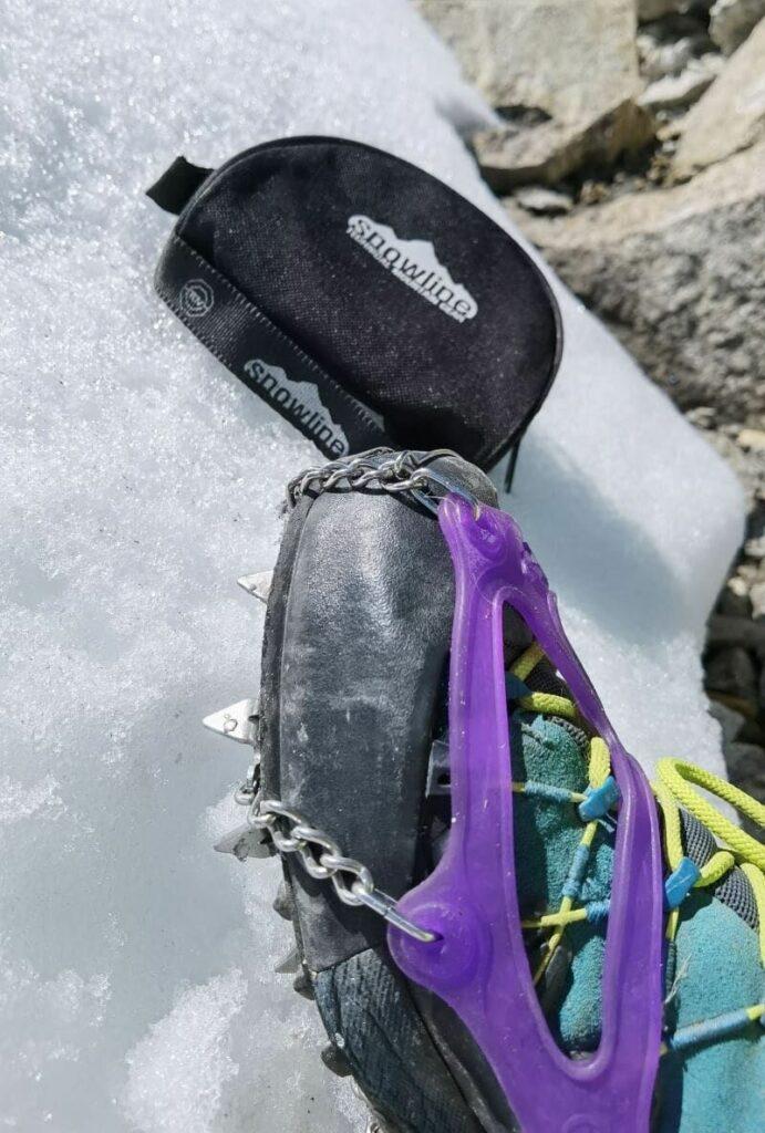 Mein Olperer Abstieg mit Snowline Grödel