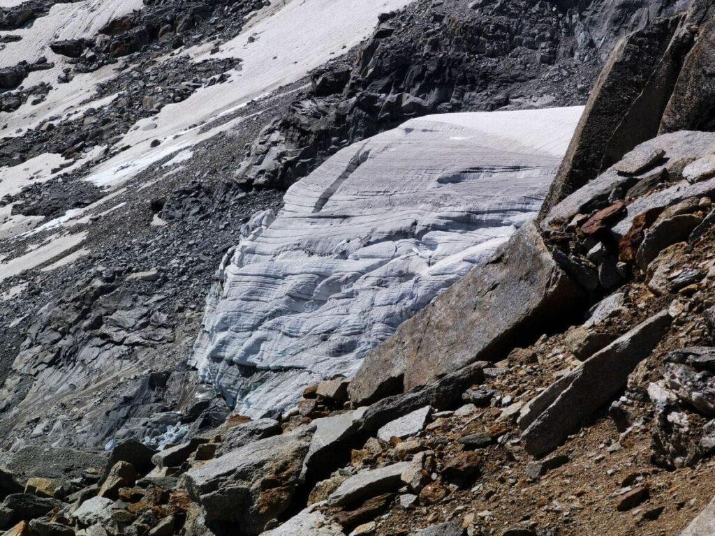 Das Unterschrammachkees am Olperer nährt die beiden kleinen Gletscherseen